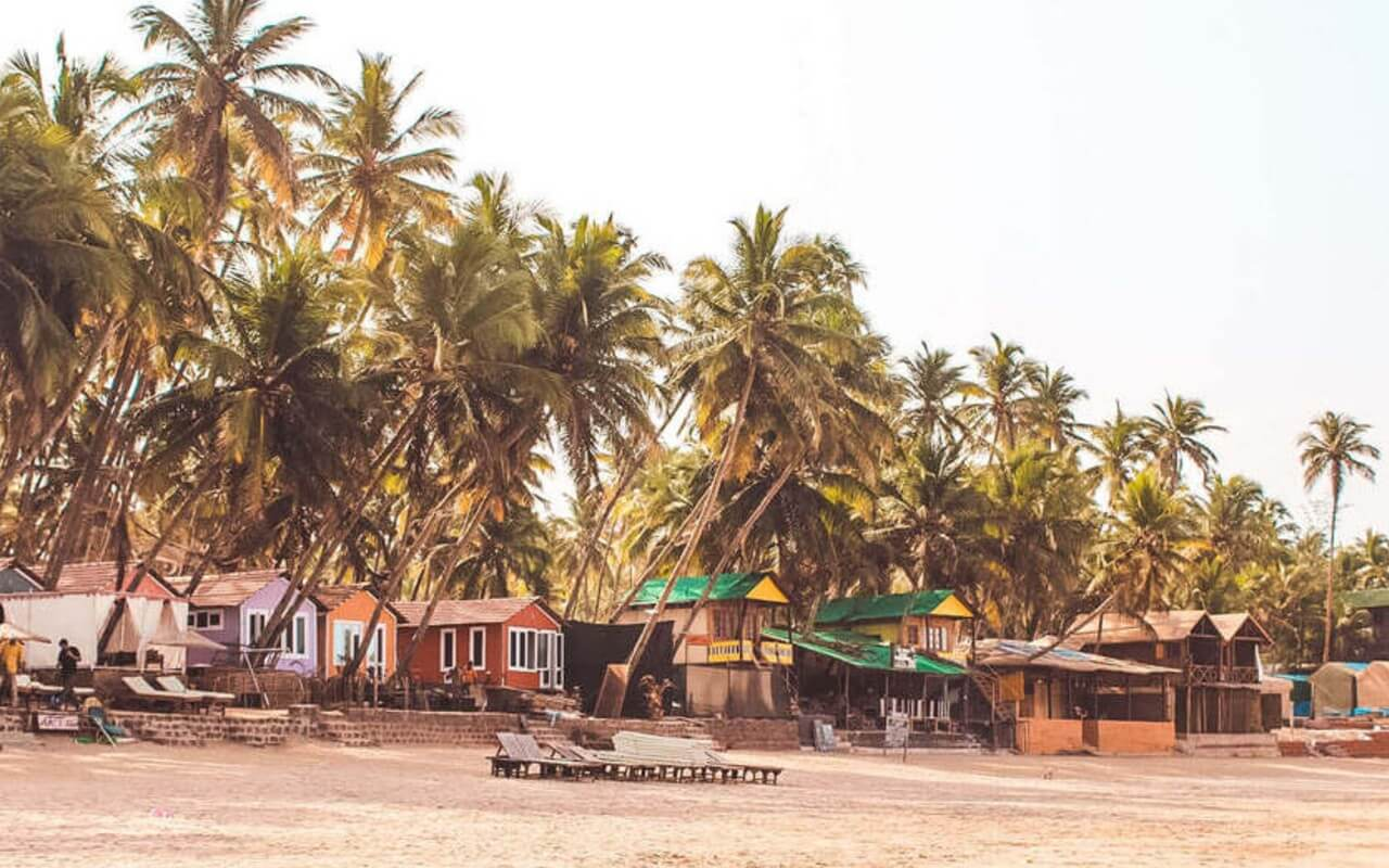 Beach Shacks in South Goa