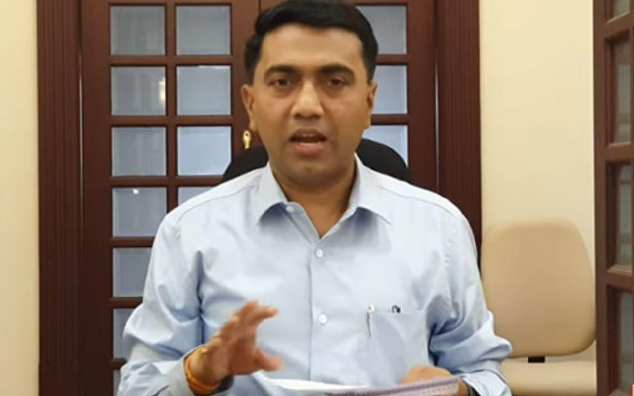 Goa CM Dr Pramod Sawant