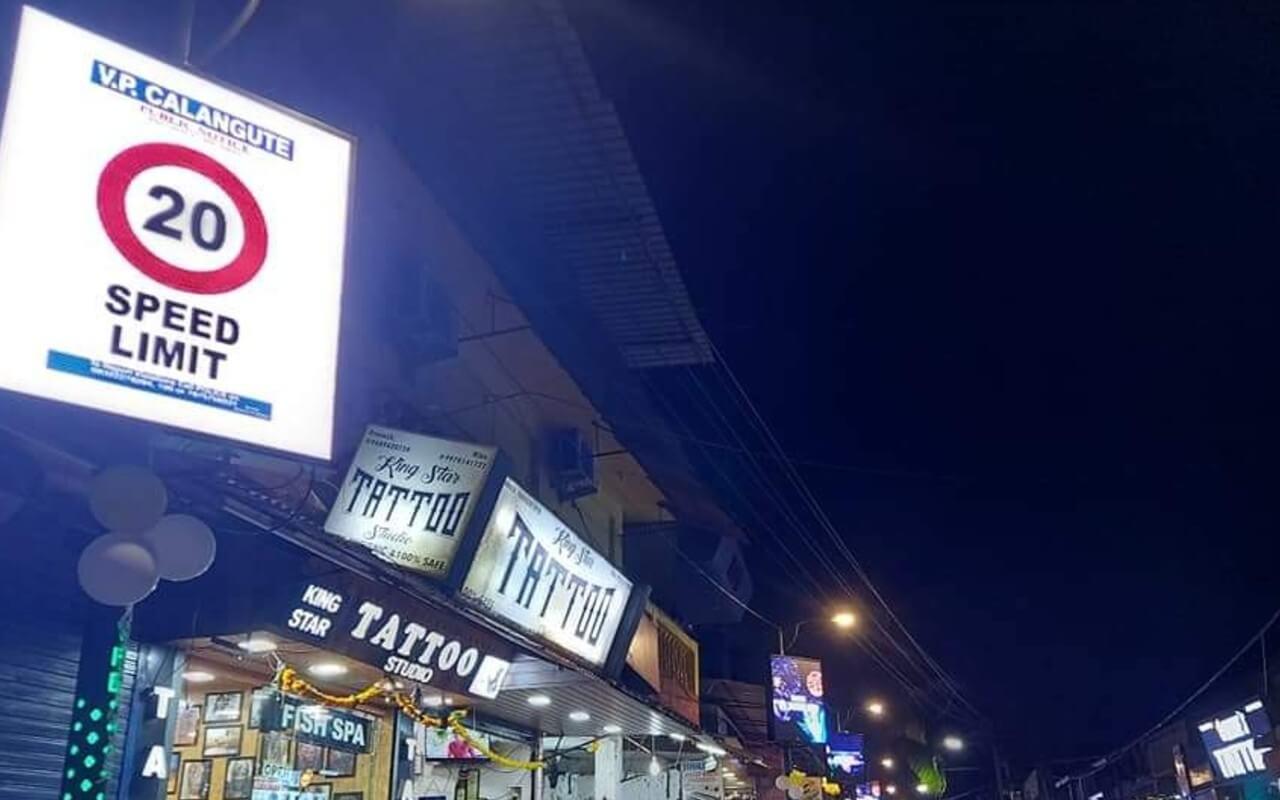 The Smart Street In Calangute