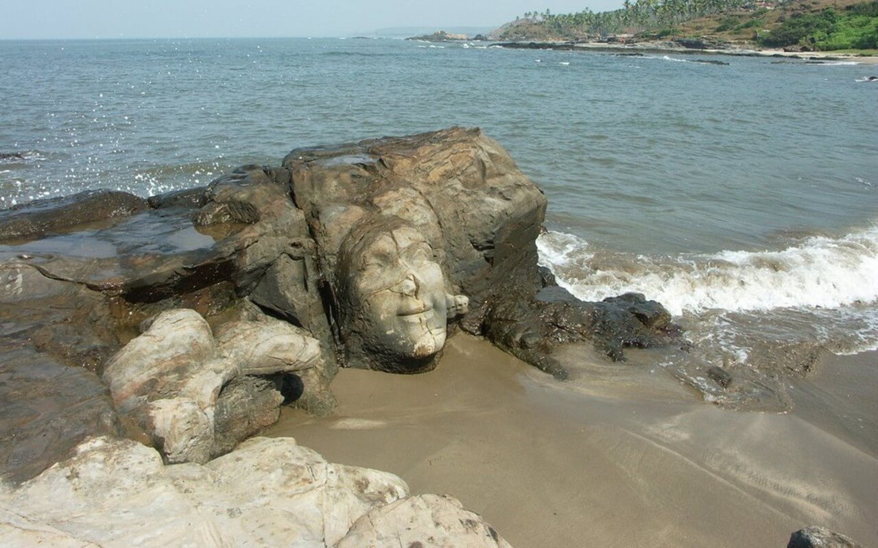 Goa's Famous Ozran Beach