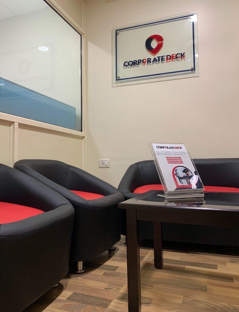 Corporate Deck Reception