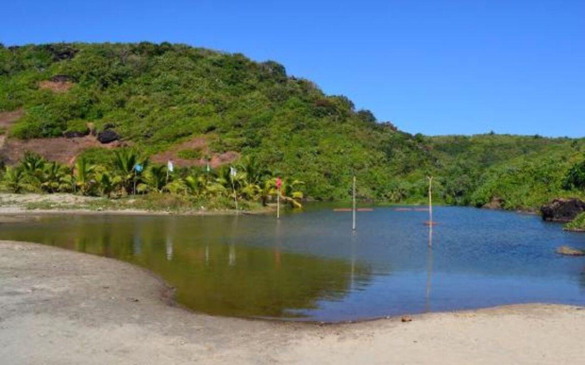 Sweet Water Lake in Arambol