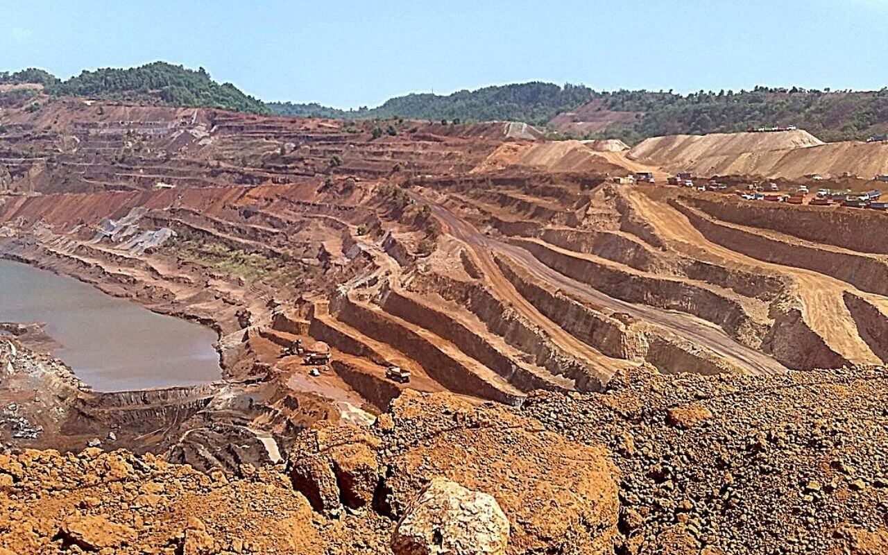 Iron ore Mining in Goa