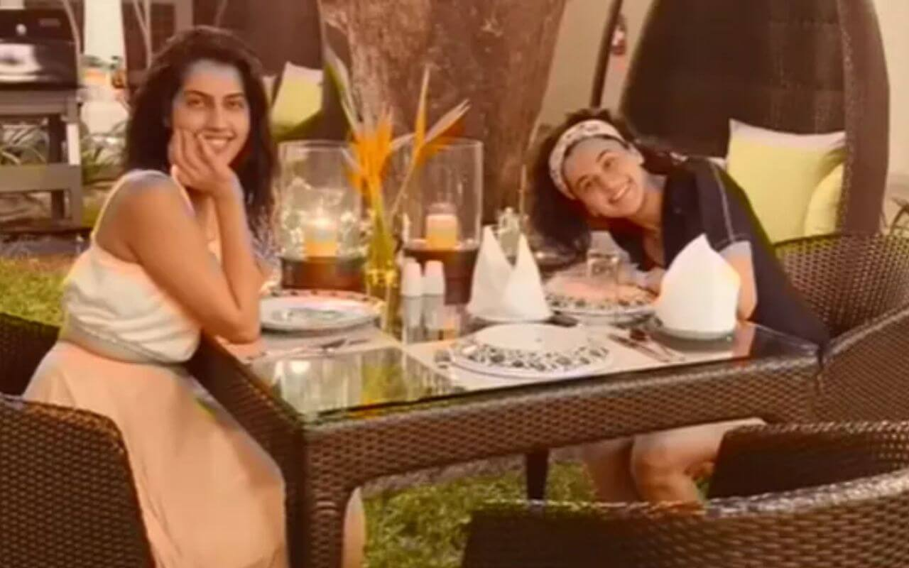 Taapsee Pannu Shares Picture With Her Sister From Goa