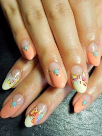 55 Beautiful Japanese Nail Art Designs | Incredible Snaps