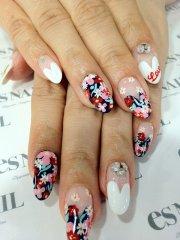 beautiful japanese nail art