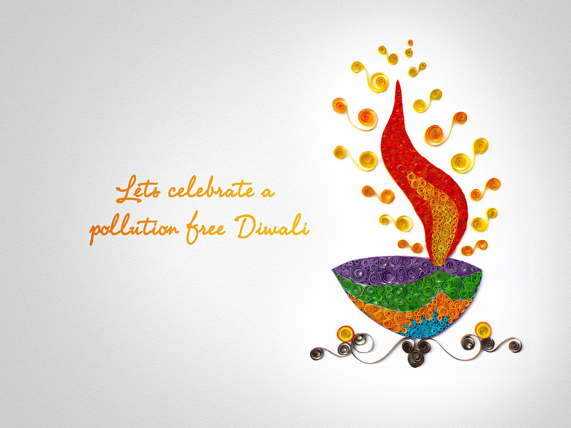 30 Beautiful and Colorful Diwali Greeting card Designs