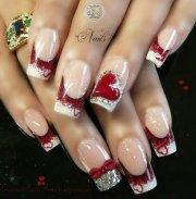 amazing nail art- valentine day
