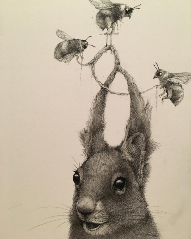 Mind Blowing Funny Pencil Drawings By Adonna Khare  Incredible Snaps