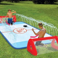 Slip n' Slide Knee Hockey Rink