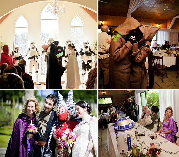 20 Super Geeky Weddings  Incredible Things