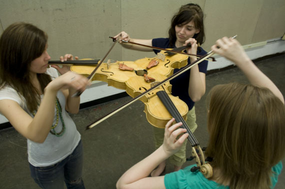A Triolin Is 3 Connected Violins