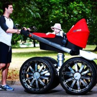 The Most Manliest Baby Stroller Ever