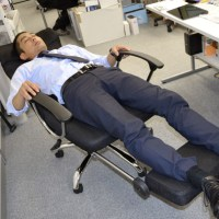 This Reclining Office Chair Is For Sleeping On The Job