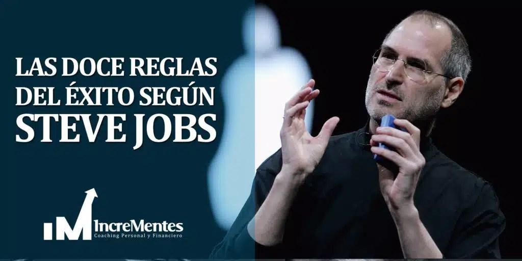Las doce reglas del éxito según Steve Jobs