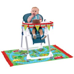 High Chair Decorations 1st Birthday Boy Lowes Outdoor Rocking Chairs Disney Cars Party Supplies