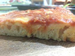 Pizza idratata