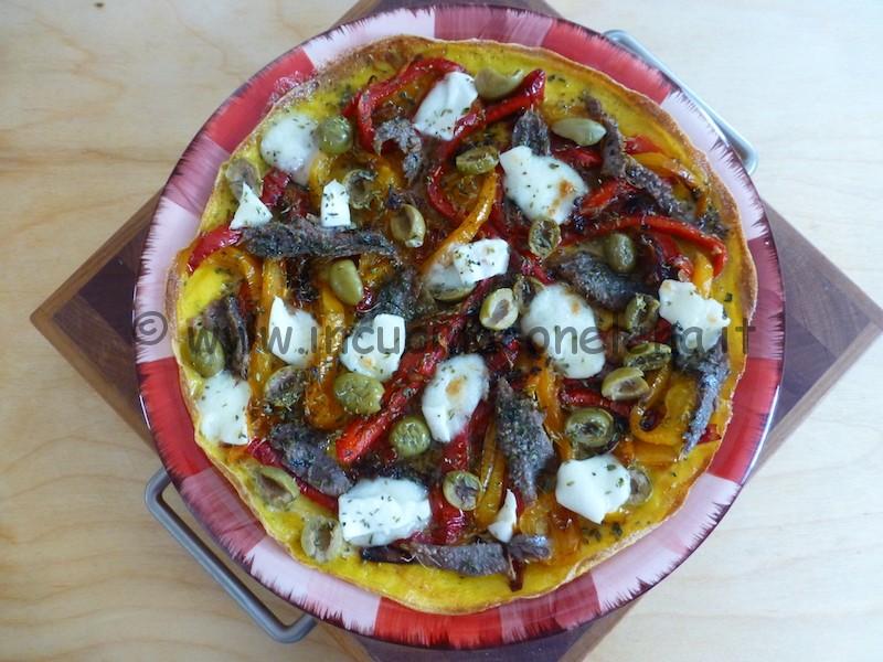 Ricetta Omelette Mozzi.Ricetta Omelette Mediterranea Ricette Dieta Gruppo Sanguigno