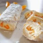 Ricetta Rotolo di Meringa al Mango