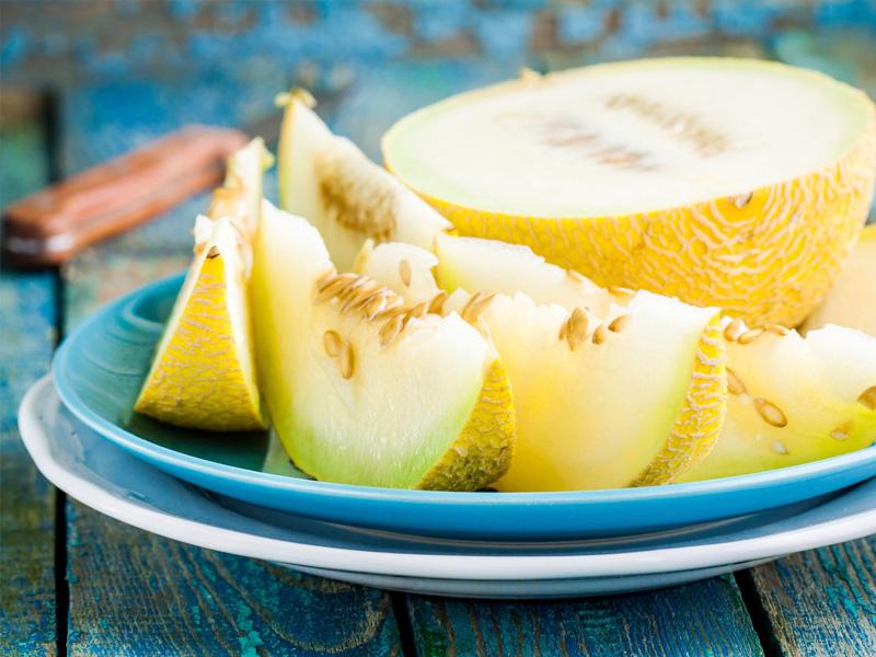 Il melone giallo nella Dieta del Gruppo Sanguigno