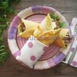 Ricetta Wrap di tacchino e zucchine grigliate
