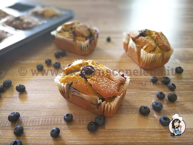 Mini plumcake ai mirtilli