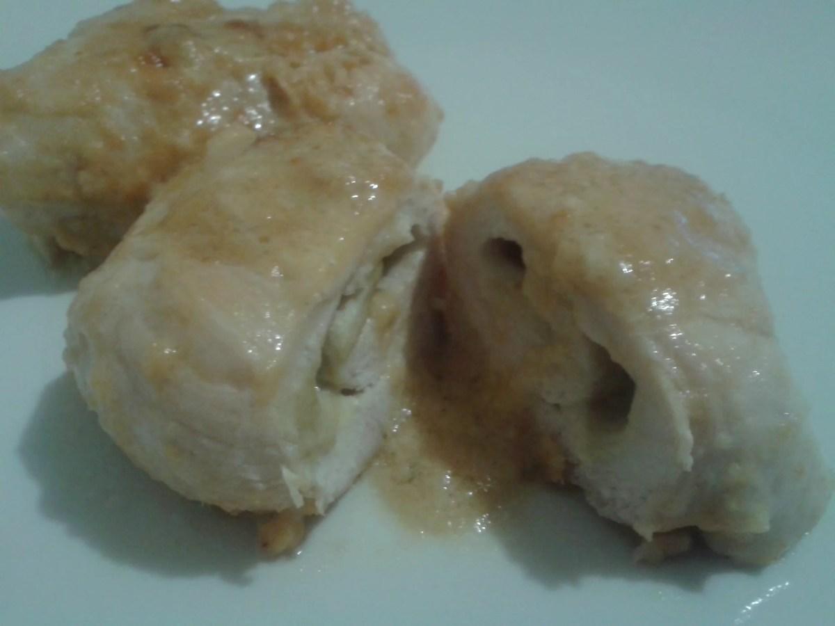 Involtini di pollo al carciofo   Ricetta