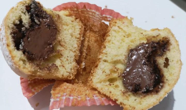 Muffin alla Nutella