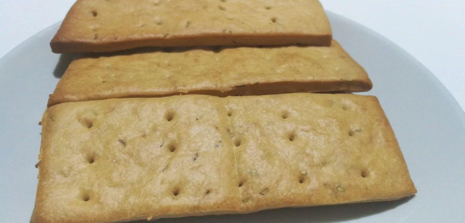 Crackers fatti in casa