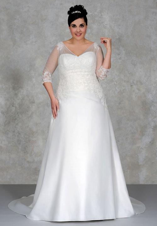 Hochzeitskleider fr groe Gren  INCURVY PlusSize Fashion  BLOG
