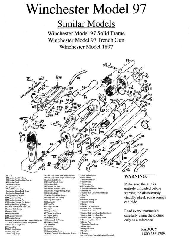 Winchester Model 97 Takedown