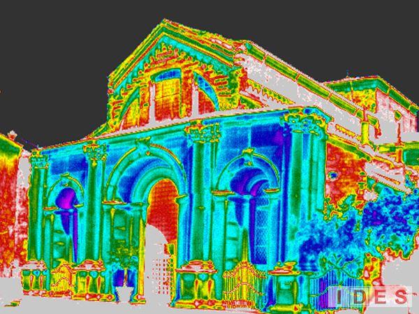 """Chiesa di """"S. Maria in Organo"""" - Verona - Indagini termografiche"""