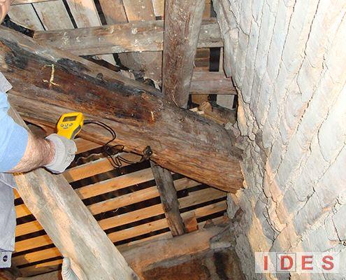 Analisi igrometrica del legno