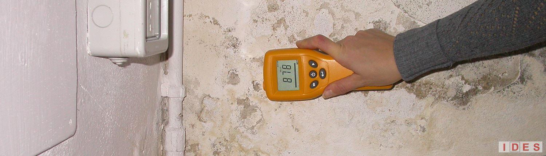 misura contenuto acqua intonaco