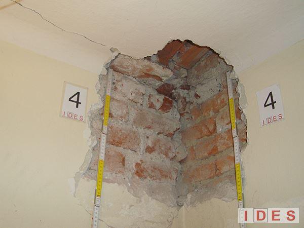 """Palazzo """"Monforte"""" - Direzione Regionale Lombardia Demanio - Milano - Analisi degli ammorsamenti murari"""