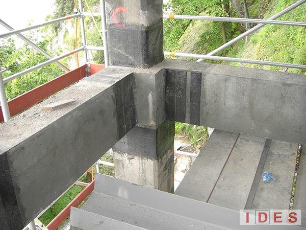 """Villa """"Troubetzkoy"""" - Blevio (Como) - Rinforzo strutturale in fibre di carbonio"""