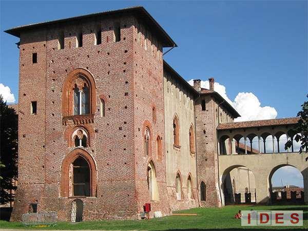 Vigevano Pavia Castello Sforzesco