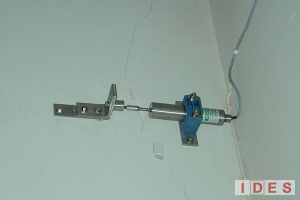 Monitoraggio fessure edifici