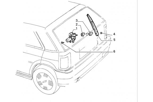 Dispositivo intermittenza Tergicristallo FIAT Bravo 1995