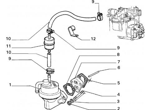 Isolante FIAT 126 Bis 1987-1999 Cinquecento 1992-1998