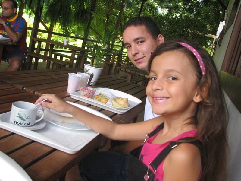 Café da manhã no Viveiro Tracoá - São Luís