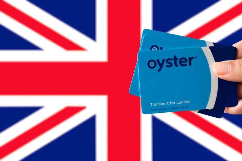 oyster card - transporte publico em londres