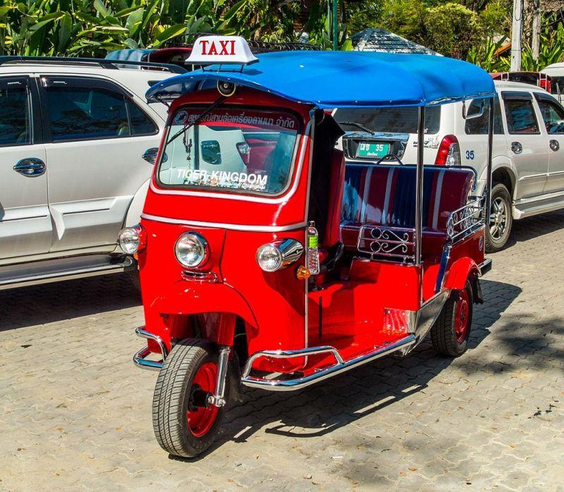 como se locomover na Tailândia - O que é Tuk Tuk