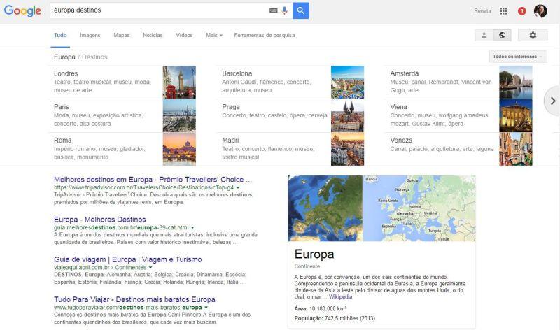 Google Destinations - Lançamento do Google para nós viajantes