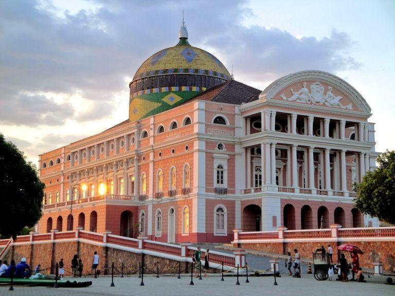Teatro Amazonas, no centro de Manaus.