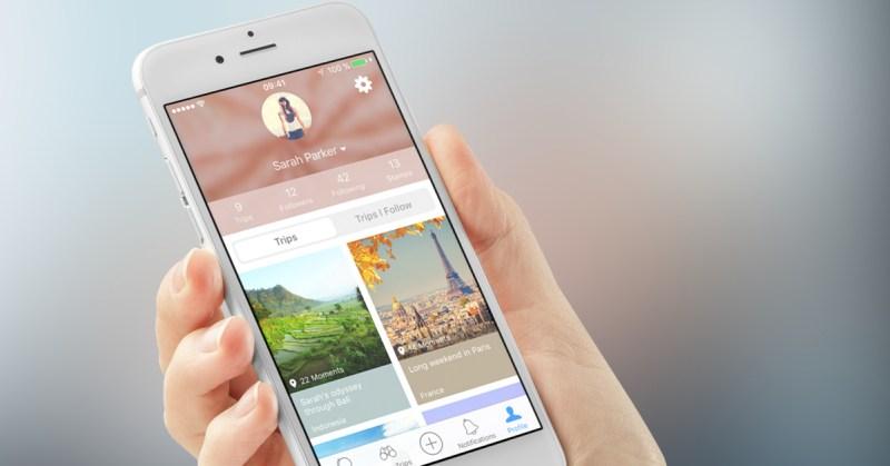 apps para registrar viagens - journi