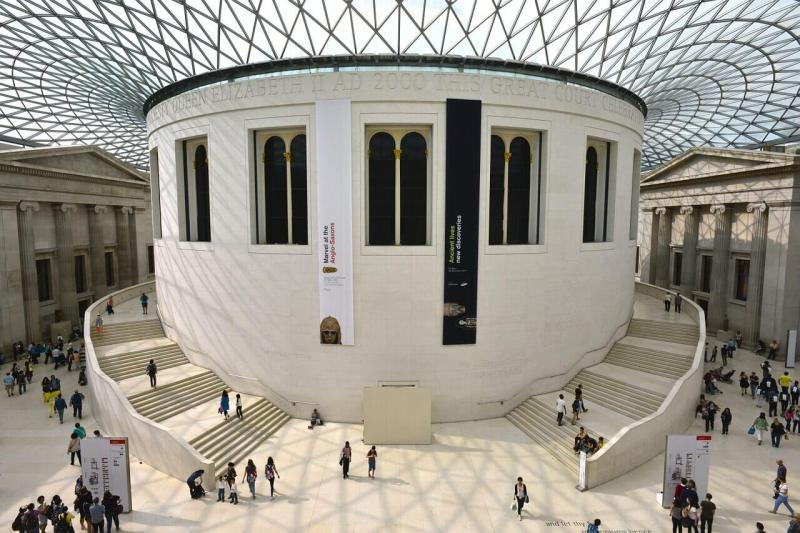 O Museu Britânico é uma das mais famosas atrações gratuitas em Londres