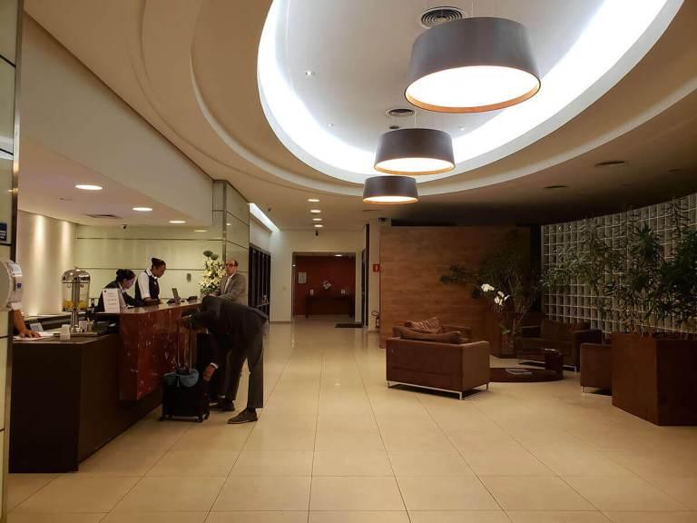 Hotel Panamby Guarulhos - Recepção