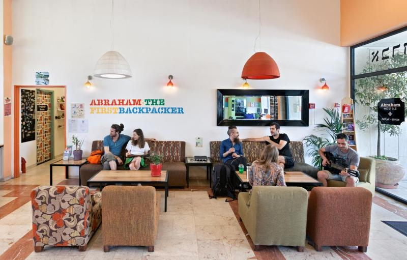 Abraham Hostel Jerusalém - Foto divulgada no Booking.com