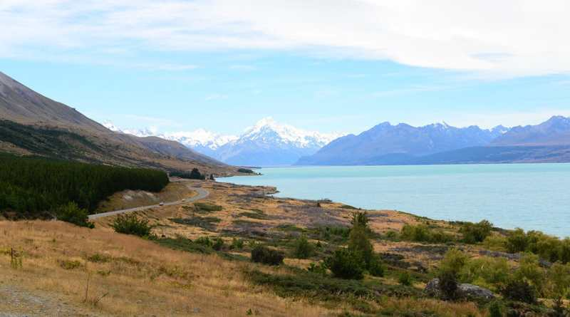 estrada da Nova Zelandia